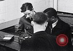 Image of African American college students Washington DC USA, 1939, second 7 stock footage video 65675031589