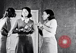 Image of African American students in drama class Washington DC USA, 1939, second 32 stock footage video 65675031593