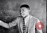 Image of African American students in drama class Washington DC USA, 1939, second 58 stock footage video 65675031593