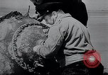 Image of German Navy explosives experts destroy marine mines Germany, 1944, second 15 stock footage video 65675031603