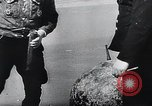 Image of German Navy explosives experts destroy marine mines Germany, 1944, second 26 stock footage video 65675031603