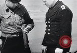 Image of German Navy explosives experts destroy marine mines Germany, 1944, second 27 stock footage video 65675031603