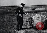 Image of German Navy explosives experts destroy marine mines Germany, 1944, second 47 stock footage video 65675031603