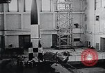 Image of A-4 missile Peenemunde Germany, 1942, second 25 stock footage video 65675031612