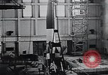 Image of A-4 missile Peenemunde Germany, 1942, second 33 stock footage video 65675031612