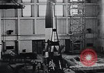 Image of A-4 missile Peenemunde Germany, 1942, second 36 stock footage video 65675031612