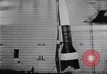 Image of A-4 missile Peenemunde Germany, 1942, second 37 stock footage video 65675031612