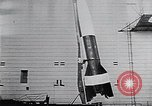 Image of A-4 missile Peenemunde Germany, 1942, second 42 stock footage video 65675031612