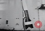 Image of A-4 missile Peenemunde Germany, 1942, second 43 stock footage video 65675031612