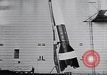 Image of A-4 missile Peenemunde Germany, 1942, second 44 stock footage video 65675031612