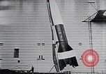 Image of A-4 missile Peenemunde Germany, 1942, second 45 stock footage video 65675031612