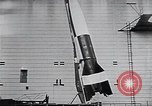 Image of A-4 missile Peenemunde Germany, 1942, second 46 stock footage video 65675031612
