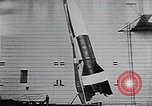 Image of A-4 missile Peenemunde Germany, 1942, second 47 stock footage video 65675031612