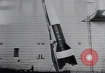 Image of A-4 missile Peenemunde Germany, 1942, second 48 stock footage video 65675031612