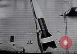 Image of A-4 missile Peenemunde Germany, 1942, second 49 stock footage video 65675031612