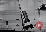 Image of A-4 missile Peenemunde Germany, 1942, second 50 stock footage video 65675031612