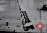 Image of A-4 missile Peenemunde Germany, 1942, second 53 stock footage video 65675031612