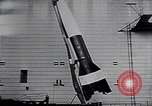 Image of A-4 missile Peenemunde Germany, 1942, second 55 stock footage video 65675031612