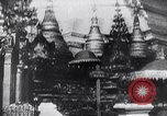 Image of Japanese architecture Burma, 1945, second 9 stock footage video 65675031639
