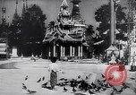 Image of Japanese architecture Burma, 1945, second 19 stock footage video 65675031639