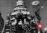 Image of Japanese architecture Burma, 1945, second 28 stock footage video 65675031639