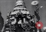 Image of Japanese architecture Burma, 1945, second 29 stock footage video 65675031639