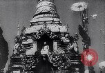 Image of Japanese architecture Burma, 1945, second 31 stock footage video 65675031639
