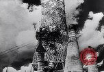 Image of Japanese architecture Burma, 1945, second 39 stock footage video 65675031639