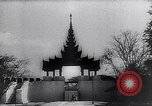 Image of Japanese architecture Burma, 1945, second 46 stock footage video 65675031639