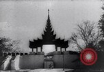 Image of Japanese architecture Burma, 1945, second 47 stock footage video 65675031639