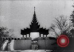 Image of Japanese architecture Burma, 1945, second 48 stock footage video 65675031639
