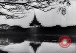 Image of Japanese architecture Burma, 1945, second 52 stock footage video 65675031639