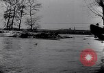 Image of German soldiers navigate mud and flooding Eastern Front European Theater, 1941, second 15 stock footage video 65675031640