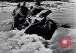 Image of German soldiers navigate mud and flooding Eastern Front European Theater, 1941, second 25 stock footage video 65675031640