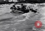 Image of German soldiers navigate mud and flooding Eastern Front European Theater, 1941, second 27 stock footage video 65675031640