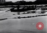 Image of German soldiers navigate mud and flooding Eastern Front European Theater, 1941, second 30 stock footage video 65675031640