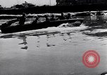 Image of German soldiers navigate mud and flooding Eastern Front European Theater, 1941, second 31 stock footage video 65675031640