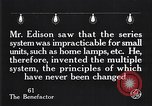 Image of incandescent lamp United States USA, 1923, second 18 stock footage video 65675031661