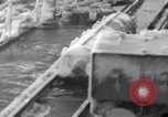 Image of Japanese light cruisers encounter ice in Aleutian waters Aleutians, 1942, second 17 stock footage video 65675031674