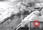 Image of Japanese light cruisers encounter ice in Aleutian waters Aleutians, 1942, second 22 stock footage video 65675031674