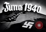 Image of Hitler planning invasion of England Paris France, 1940, second 40 stock footage video 65675031679
