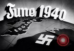Image of Hitler planning invasion of England Paris France, 1940, second 41 stock footage video 65675031679