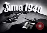 Image of Hitler planning invasion of England Paris France, 1940, second 42 stock footage video 65675031679