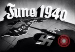 Image of Hitler planning invasion of England Paris France, 1940, second 43 stock footage video 65675031679
