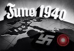 Image of Hitler planning invasion of England Paris France, 1940, second 44 stock footage video 65675031679