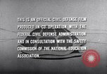 Image of civil defense United States USA, 1955, second 51 stock footage video 65675031691