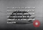 Image of civil defense United States USA, 1955, second 53 stock footage video 65675031691