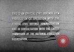 Image of civil defense United States USA, 1955, second 54 stock footage video 65675031691