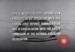 Image of civil defense United States USA, 1955, second 55 stock footage video 65675031691