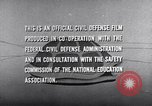 Image of civil defense United States USA, 1955, second 57 stock footage video 65675031691
